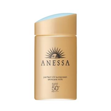 日本Shiseido资生堂安热沙安耐晒ANESSA小金瓶防晒乳18年新版SPF50+/60ml