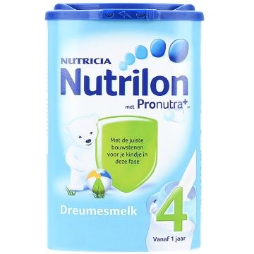 荷兰Nutrilon牛栏奶粉4段(12-24个月宝宝) 800g*2