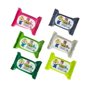 【韩国进口 国内仓发货】Pororo啵乐乐 免搓香皂 130g*2