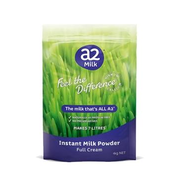 【澳洲直邮】新西兰A2成人全脂奶粉青少年学生中老年高钙牛奶粉 1kg*3袋 包邮