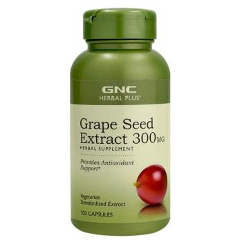 【七二四】Grape Seed Extract 葡萄籽萃取胶囊 300mg100粒 高含量高性价比 95%高浓度葡萄籽