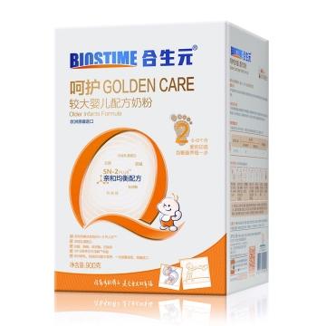 合生元 呵护较大婴儿配方奶粉2阶段适合宝宝娇嫩胃肠 有营养 易吸收 900g