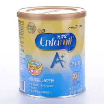 美赞臣安婴儿A+无乳糖婴儿配方粉(0-1岁)_400g