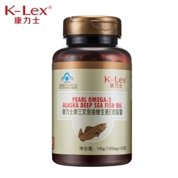 K-lex 康力士三文鱼油维生素E软胶囊 300粒