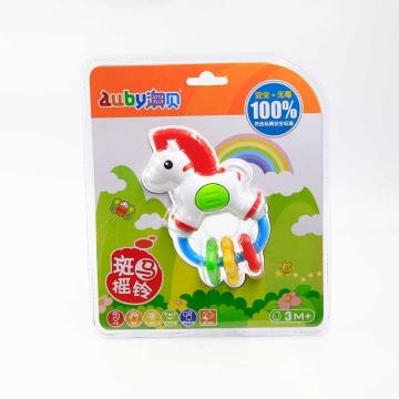 澳贝 斑马摇铃3M+ 463137 婴儿宝宝摇铃 早教益智玩具