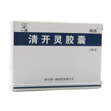 一洲 清开灵胶囊 0.25g*24粒*1袋【Y】