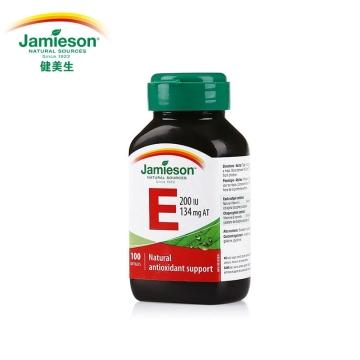 【加拿大直邮】 Jamieson健美生天然维生素E 100IU 100粒/67mg