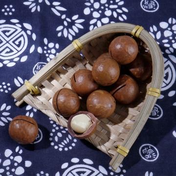 澳洲坚果零食奶油味夏威夷果250g*2罐装 大颗粒送开口器 酥脆可口-蜜