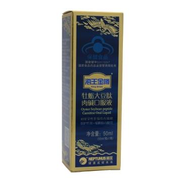 【健保通】海王金樽牌 牡蛎大豆肽肉碱口服液 50ml*1瓶