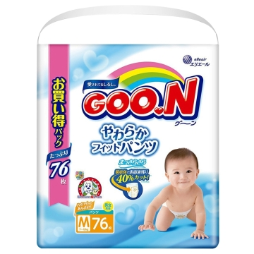 大王(维E)纸尿裤M76*2