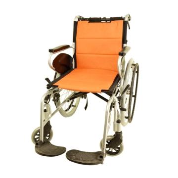 【健保通】互邦铝合金手动轮椅车 HBL27