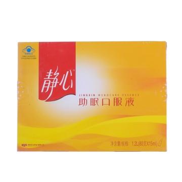 【瀚银通、健保通】静心助眠口服液 1.2L(15ml*80支)