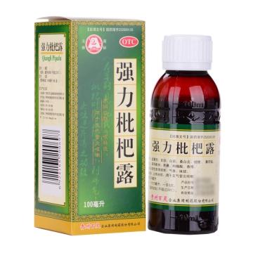 【健保通】强力枇杷露 百灵鸟 100ml*1瓶