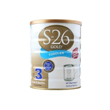 新西兰S26惠氏金新生婴儿牛奶粉3段(1-3周岁宝宝)900g*2保质期2018.03-2018.08,介意者慎拍