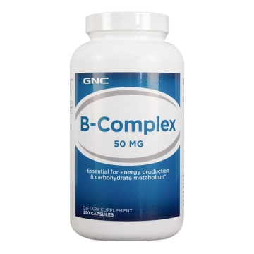 【海外直采 国内现货】GNC/美国健安喜 维生素B 提升免疫力 250粒
