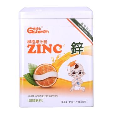 乖博士柳橙果汁固體飲料 45g(1.5g*30袋)