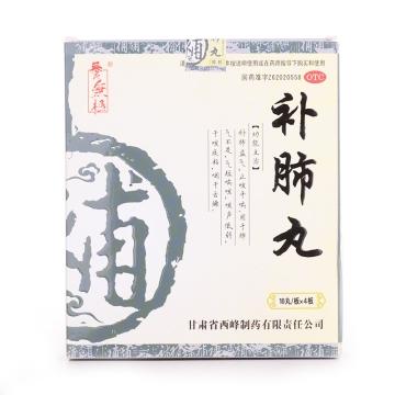 【瀚银通、健保通】补肺丸(大蜜丸) 乐天 9g*10丸*4板