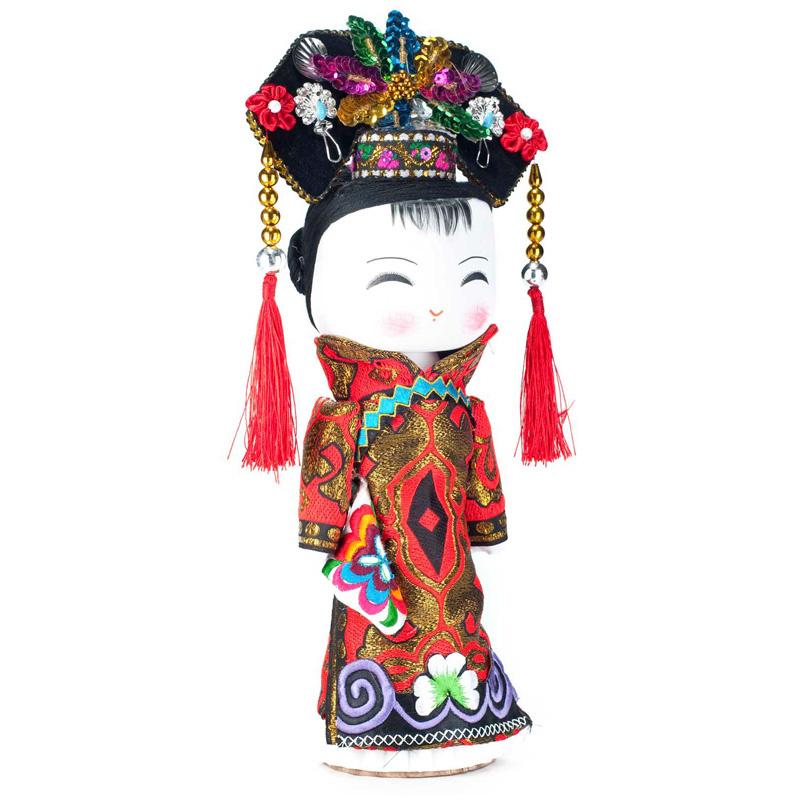 云南民族特色工艺品民族木娃娃满族民族娃娃主产品供观赏和收藏工艺品
