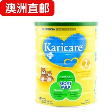 【澳洲直邮】karicare/可瑞康婴幼儿羊奶粉1段 0-6个月 900g*6 包邮
