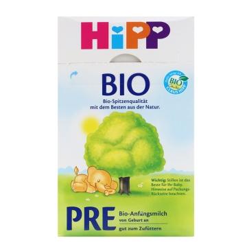 【海外直采 国内发货】HIPP/喜宝 有机奶粉Pre段 600g*2 包邮
