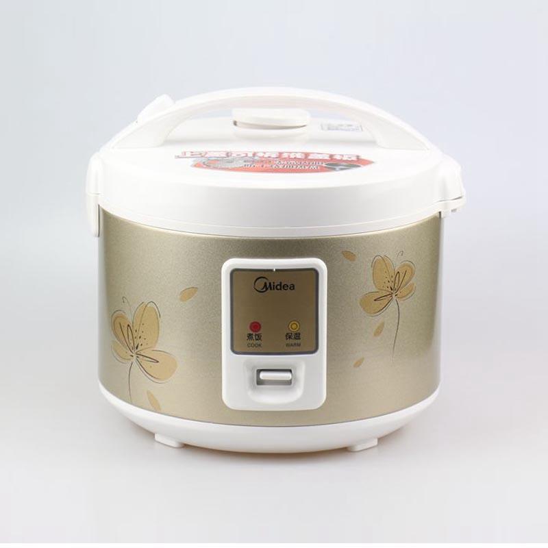 midea/美的 yj4020电饭煲西施煲4l机械电饭锅 黑晶加厚内胆