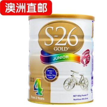 【澳洲直邮】澳洲惠氏S26 婴幼儿惠氏金装奶粉4段 900g*3