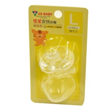 优生 拇指型安抚奶嘴 L号 U12401 1个 6个月以上 咬牙固齿