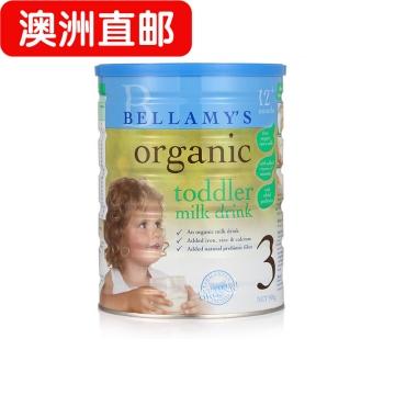 【澳洲直邮】BELLAMY infant step2贝拉美三段奶粉 新西兰进口*3