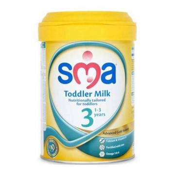 英国SMA惠氏婴幼儿奶粉 3段 1岁以上宝宝 900g*6罐