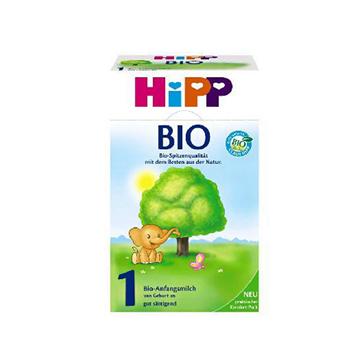 德国喜宝Hipp Bio有机奶粉(3-6个月宝宝)1段 600g*2