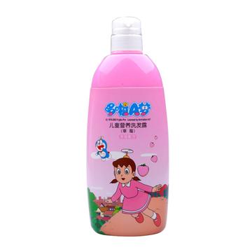 哆啦A梦 草莓香型儿童营养洗发露 720g 滋养发丝 温和不刺激