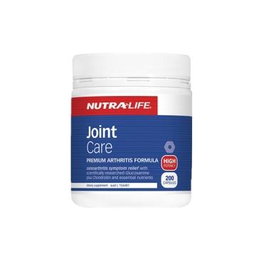 【澳洲直邮】Nutralife/纽乐 关节灵 高含量氨糖软骨素 200粒*2瓶 包邮