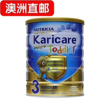 【澳洲直邮】karicare/可瑞康金装婴幼儿奶粉3段 1岁-3岁 900g*3 包邮