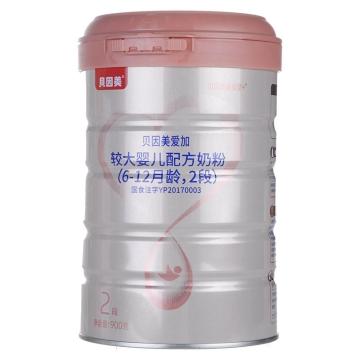 貝因美愛加較大嬰兒配方奶粉(6-12月齡)2段 900g