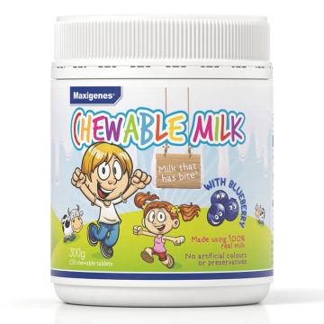 【澳洲直邮】Maxigenes儿童蓝莓越橘护眼奶片150粒*2瓶 包邮