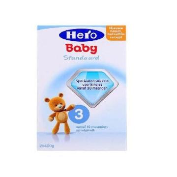 荷兰Hero Baby美素奶粉3段(10-12个月宝宝)800g(2盒装)