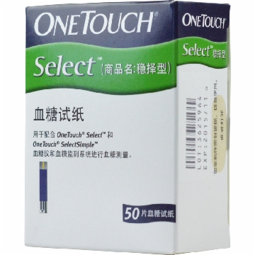 ONETOUCH Select 血糖试纸(原稳择型血糖试纸)