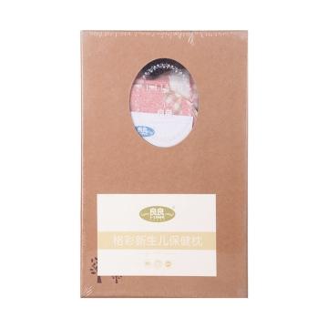 ?#21058;?#26684;彩童语婴幼儿护型保健枕粉色(0-3岁标准) LL17A01-1P