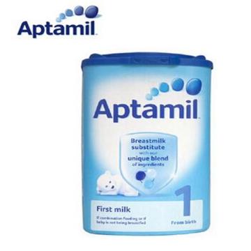 英国原装进口 爱他美Aptamil奶粉 1段 0-6月使用 900g*6罐