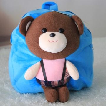 幼儿园动物轻松熊头饰制作