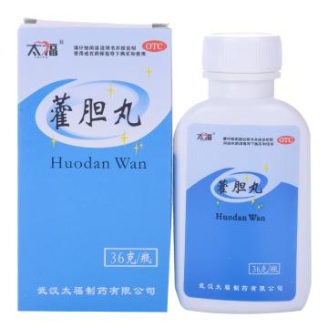 【瀚银通、健保通】藿胆丸 太福 36g*1瓶