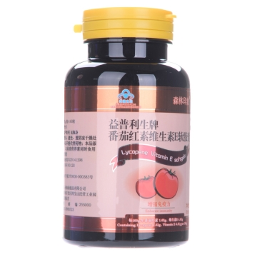 【瀚银通、健保通】森林印象益普利生牌番茄红素维生素E软胶囊 30g(0.5g*60片)