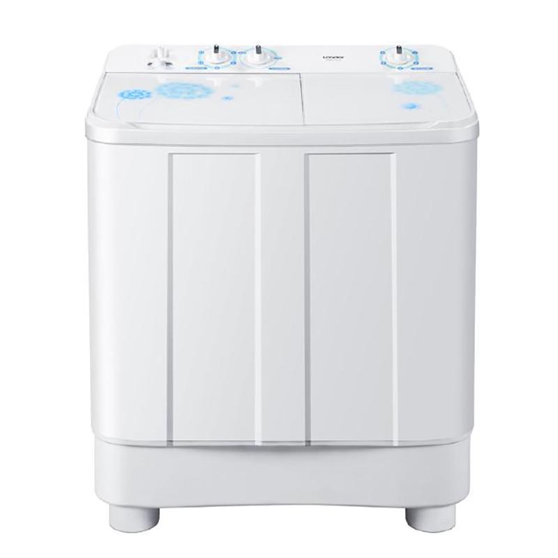 海尔统帅洗衣机/9公斤玻璃盖双缸半自动洗衣机tpb90