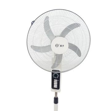 扬子fs-45电风扇家用落地扇静音摇头立式定时功能四档调节五叶
