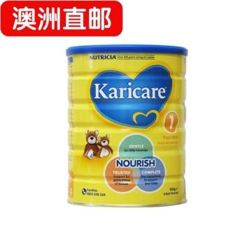 【澳洲直邮】Karicare/可瑞康普通装婴幼儿牛奶粉1段 0-6月 900g*3 包邮