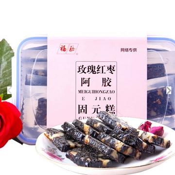福牌 阿胶固元糕(玫瑰红)500g*盒