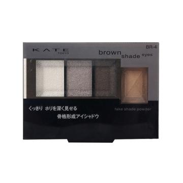 日本KATE/凯朵骨干重塑3+1眼影BR-4烟熏棕2.2g