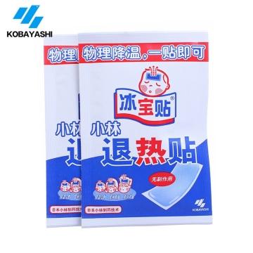 【健保通】冰宝贴小林退热贴 50mm*90mm*2片*2袋