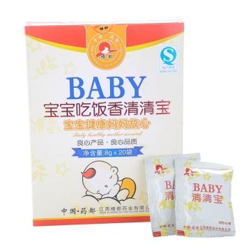 樟都 宝宝吃饭香清清宝颗粒 188g/盒