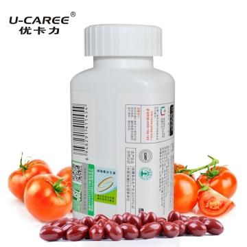 优卡力 番茄红素软胶囊 增强抵抗力 0.5g×60粒